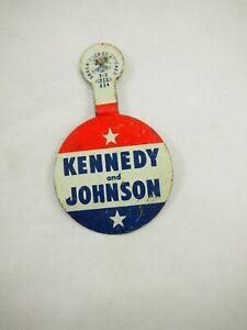 Kennedy-y-Johnson-Politico-Campaign-Tab-Back-Pin