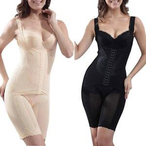 622c430174e Women s Seamless Firm Control Shapewear Fajas Open Bust Bodysuit ...
