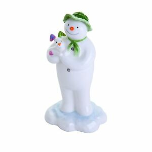 The Snowman Hugging Snow Dog John Beswick Figurine G24894
