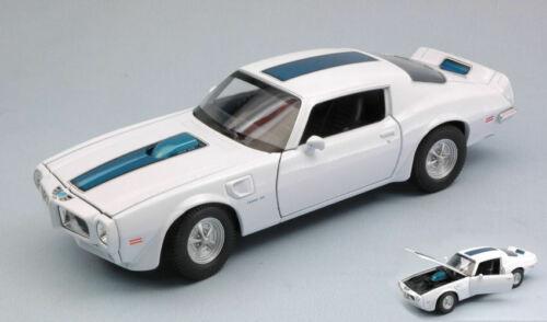Pontiac Firebird Trans Am 1972 White W// Black Stripe 1:24-27 Model 24075W WELLY