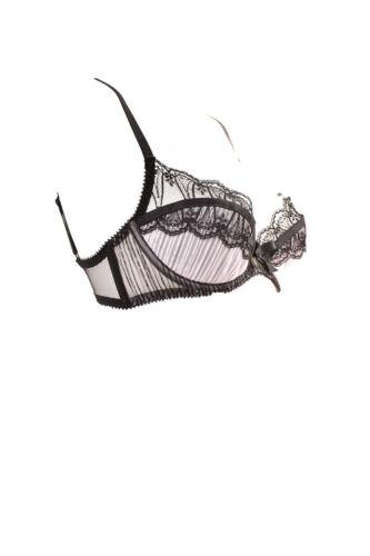 Uk Soutien 150 Bcf88 Noir £ Femmes rose de Élastique 32b Provocateur Rrp pour gorge Élégant Agent THTxpqv
