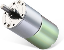 Dc 12v 550rpm Gear Motor High Torque Electric Micro Speed Reduction Geared Motor