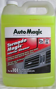 interior cleaner tornado magic by auto magic for tornador tool manual 1 gal. Black Bedroom Furniture Sets. Home Design Ideas