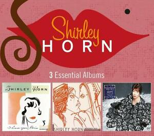 SHIRLEY-HORN-3-ESSENTIAL-ALBUMS-3-CD-NEW