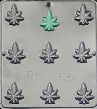 Marijuana Leaf Pot Leaf Bite Size Chocolate Candy Mold 1337 NEW