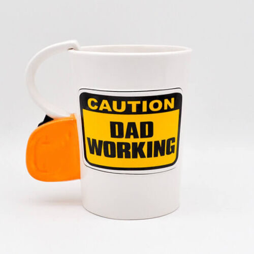 CAUTION-DAD-WORKING-3D-MUG-COFFEE-DRINKING-TEA-KITCHEN-GIFT-FATHERS-DAY-CERAMIC