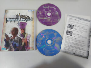 Details about Hundred Swords Sega Set PC 2 x Cd-Rom Spanish