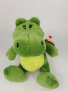 """Ty Beanie  Babies 2.0 collection 2008  """"Chompy """" (2 tags-in French) 6'' tall"""