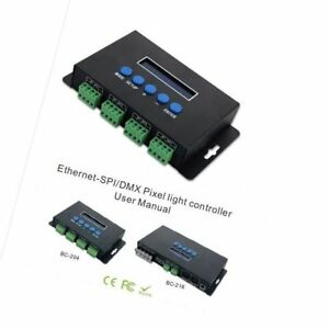 Details about BC-204 BC-216 4 CH /16 CH Artnet to SPI/DMX Led pixel light  Controller WS2811