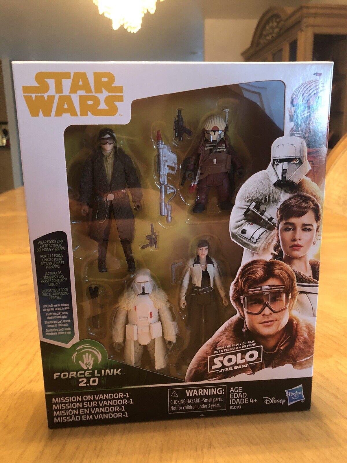ASSOLO di Star Wars 1 4-Pack missione sulla Vandor