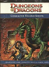 Dungeons & Dragons-D&D-Character Record Sheets-Rollenspiel-RPG-d20-OVP-new-rare