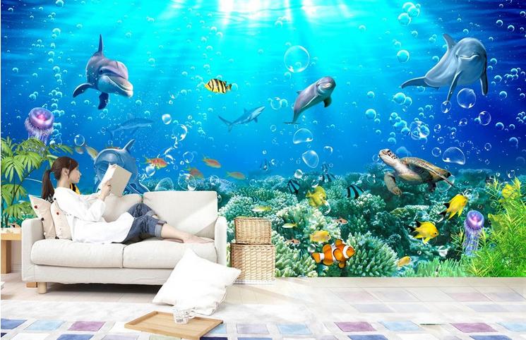 3D Bubble Meer Delphin 853 Tapete Wandgemälde Tapete Tapeten Bild Familie DE  | Flagship-Store  | Die Qualität Und Die Verbraucher Zunächst  | Genial Und Praktisch