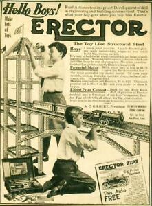 Advertising-Toy-Steel-Erector-Set-A-C-Gilbert-The-Mysto-Mfg-Co-New-Haven-1915