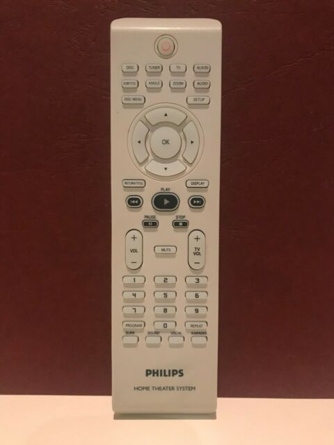 Original PHILIPS Home Theater System HTS-3100 HTS-3115 HTS-3320 Remote Control