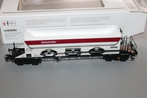 Märklin 48337 2-Achser Schotterwagen Gleisschotter DB Spur H0 OVP