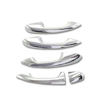 chrome Door Handle Cover Trim for 2014-2015 Mercedes-Benz C Class W205 ABS