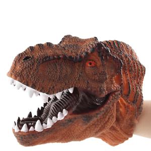 Tyrannosaurus Rex Dinosauro Testa Guanti Halloween Giocattoli//Regalo Di Natale Per Ragazzo Bambino