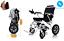 Lightweight-elektrischer-Rollstuhl-Mobilitaet-Stuhl-klappbar-Electric-Power-Rollstuhl Indexbild 2