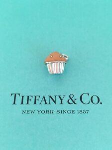 0448c359c Image is loading Tiffany-amp-Co-Pink-Enamel-Cupcake-Charm-Pendant-