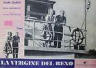 """""""LA VIERGE DU RHIN"""" Affiche entoilée (G. GRANGIER / Jean GABIN, Nadia GRAY)"""