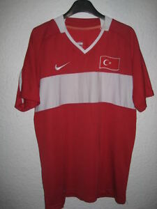 Maillot-TURQUIE-Nike-Hamit-n-19-shirt-TURKEY-collector-trikot