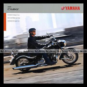 Brochure Yamaha ★ Xv 1900 A, 950 & 1300 Midnight Star ★ 2009 Moto Prospekt #bm85 B2ztqcng-08001112-954839246