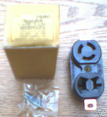 Hubbell HBL7680 10//15 Amp 250//125 V Non Nema RECEPTACLE