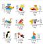 Bear-Origami-Geometric-Shape-Colorful-Enamel-Animal-Polar-Lapel-Pin-Badge-Brooch thumbnail 1
