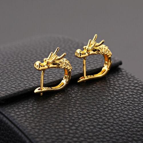 Fashion Punk Animal Dragon Stud Dangle Men Women Earrings Statement Jewelry G SK