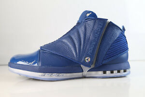 1644cb5155ac55 Air Jordan Retro 16 Trophy Room French Blue 854255-416 9-12 tr 11 1 ...