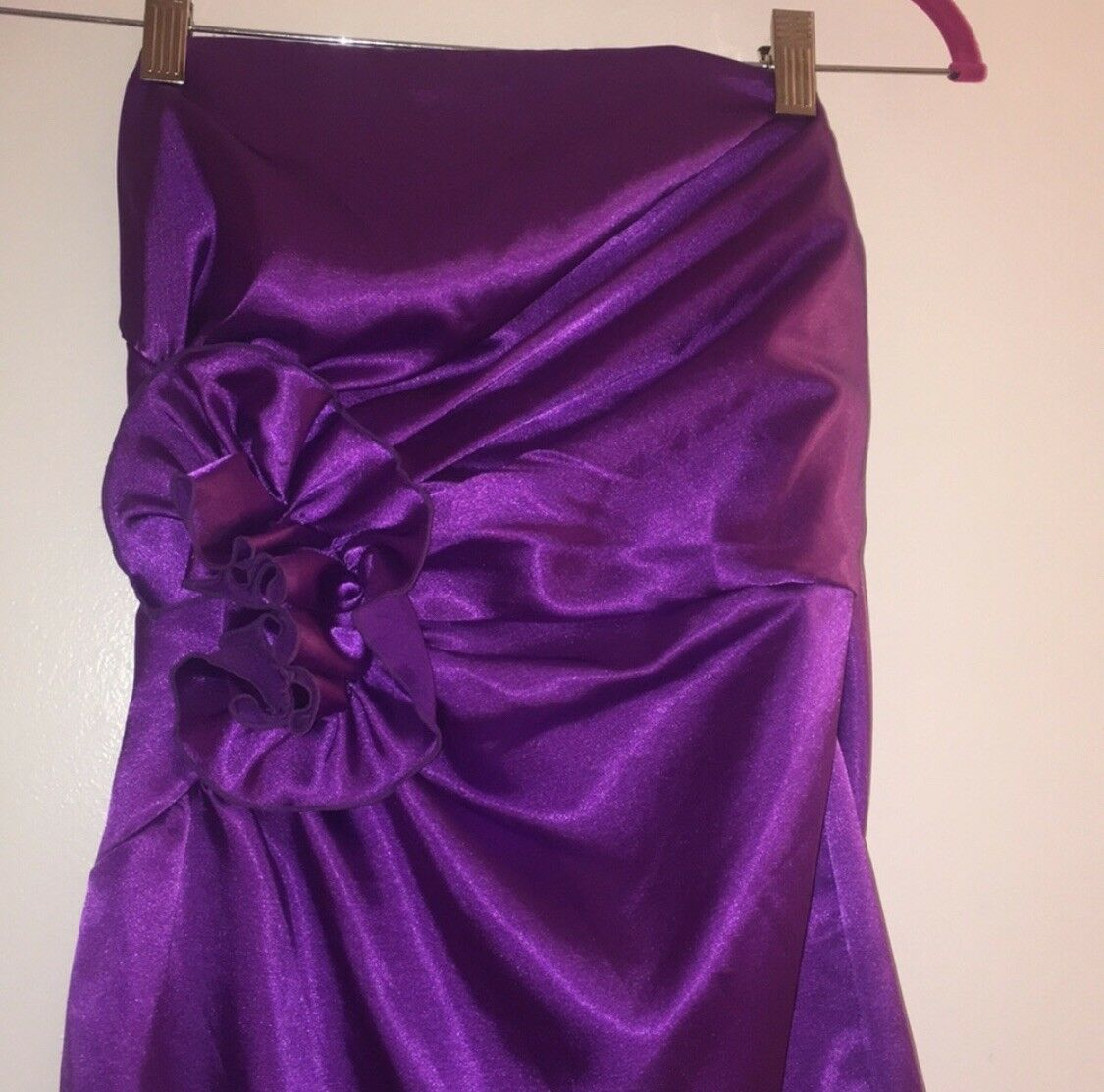 Jessica McClintock bridal purple dress size 8 Wom… - image 2