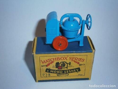 Matchbox 3A Cement Mixer replacement parts