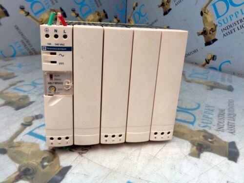 TELEMECANIQUE ABL7 RP2410 24 VDC 100-240 VAC 10 A 50//60 HZ 240 W POWER SUPPLY