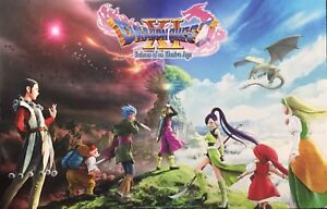 2018-sdcc-DRAGON-QUEST-XI-Comic-Con-3DS-PS4-double-sided-POSTER-Square-ENIX