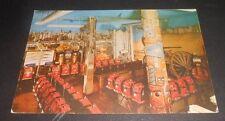 Vintage Postcard Harrolds Club Casino Roaring Camp Room Reno