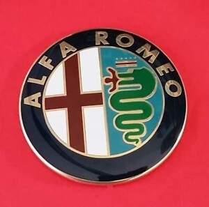 2-STEMMA-ALFA-ROMEO-147-156-159-166-GIULIETTA-MITO-LOGO-FREGIO