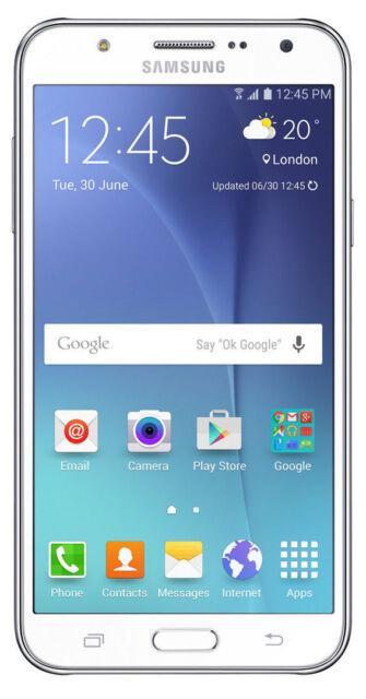Samsung Galaxy J7 SM-J700F - 16GB - White (Unlocked) Smartphone