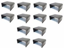 (12) 2x4 Steel Weld On STAKE POCKET BOARD HOLDER - Trailer Hauler Truck  6 Gauge