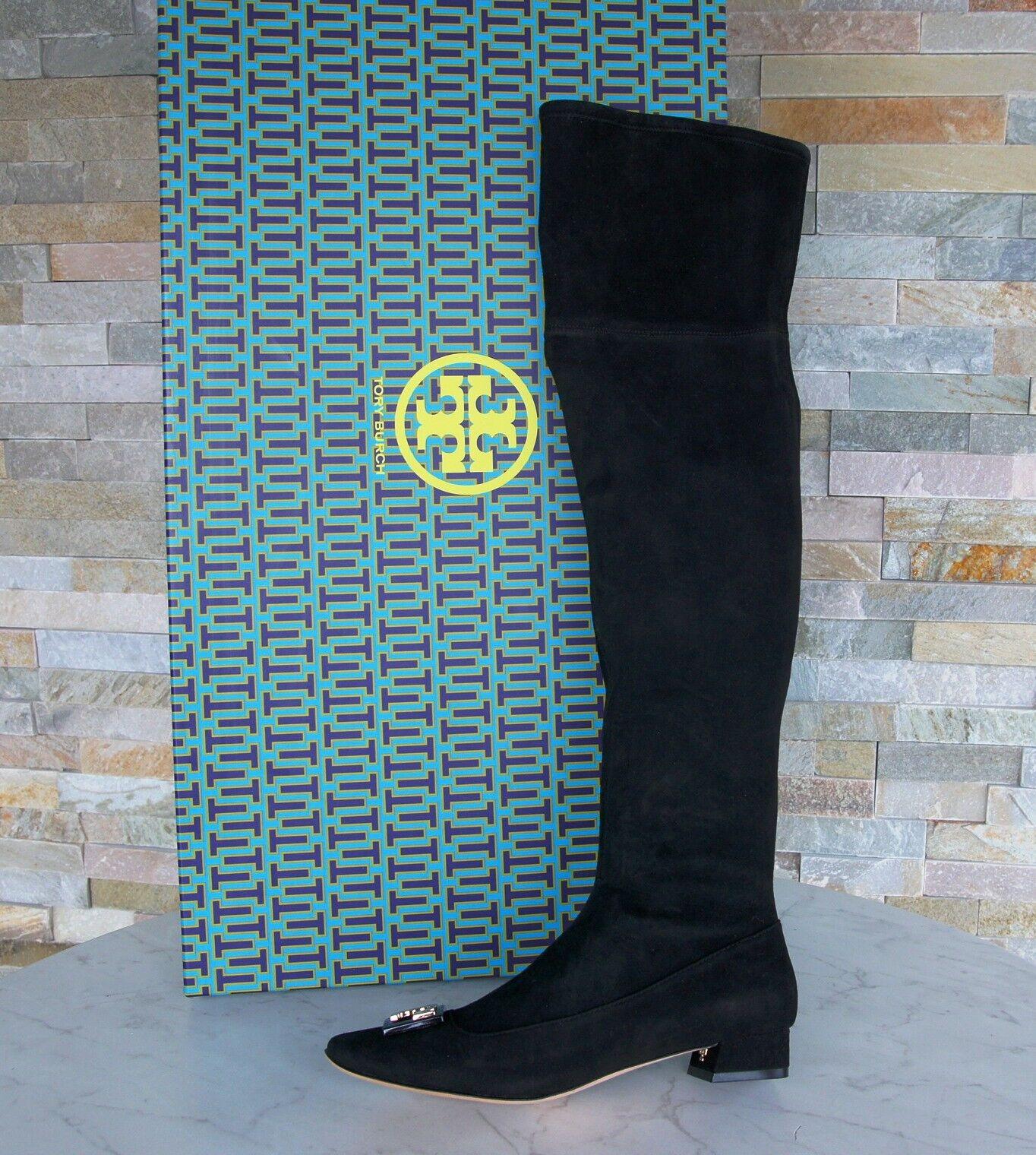 Tory Burch talla 37,5 7,5 calcetas botas zapatos zapatos zapatos negro nuevo ex PVP  disfrutando de sus compras