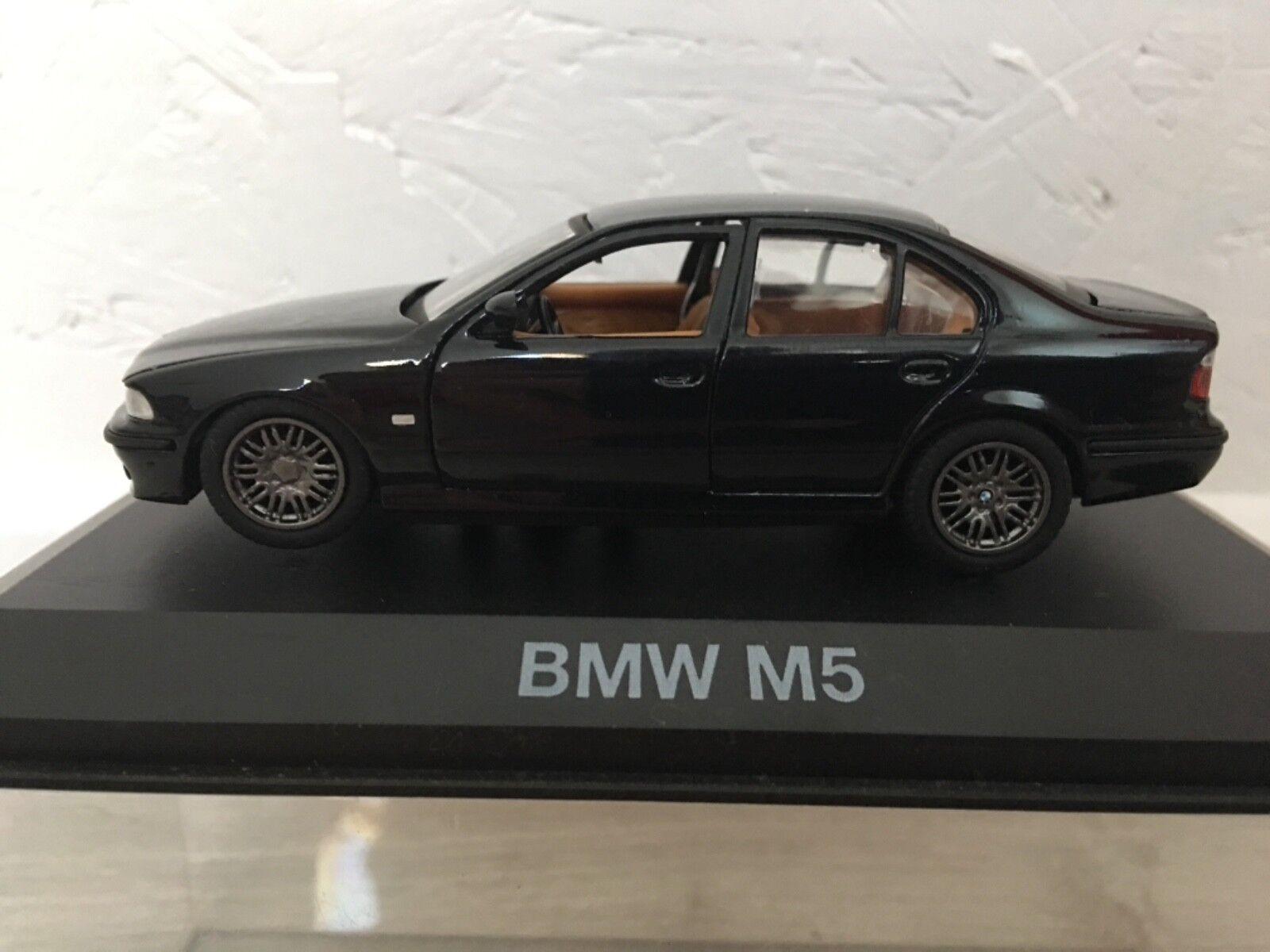 Bmw M5 berline nero miniature 1 43