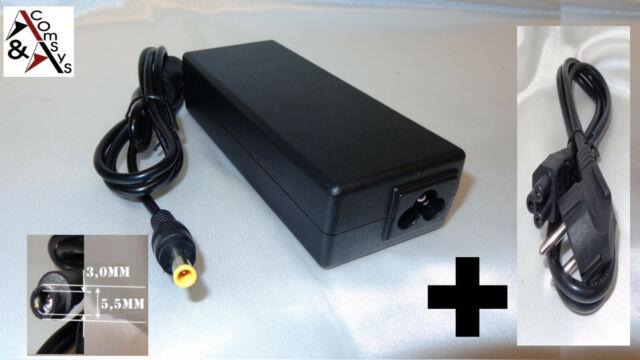 Netzteil Ladegerät Notebook Laptop 19V 4.74A 90W f. Samsung NP-R60S + Kabel #S47