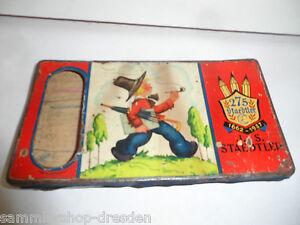 25095 Blechdose Staedtler J. S. 275 Staedtler 1937 18x10x1cm Tin Pencil