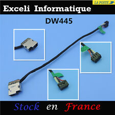 Hp pavilion 15 conector dc jack cable l17cm 8 broches cbl00360 -0150 709802-YD1