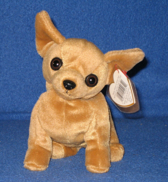 94589c7d59e Ty Original Beanie Baby Tiny Chihuahua Dog Plush Collectible ...