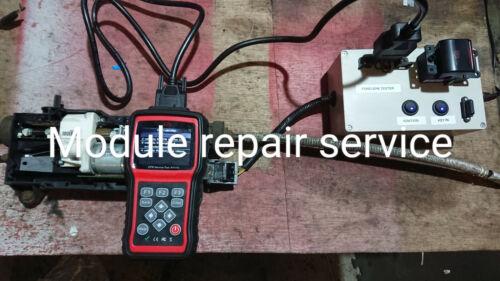 x5 x6 F15 F16 F85 electric parking brake electronic repair service epb actuator