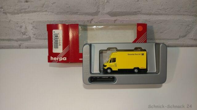 2016 HERPA 042444 MB 207 D Koegel Deutsche post AG de collection OVP