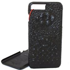 genuine leather Case for apple iphone 7 plus crocodile wallet slim cover premium