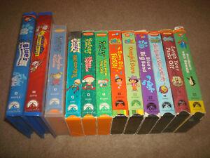 Details about Blue's Clues Rugrats Spongebob Dora the Explorer VHS LOT Kid  Cartoon Nickelodeon