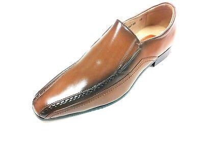 Gewissenhaft Mens Brogue Spat Wedding Dress Party Office Leather Slip On Shoes Brown