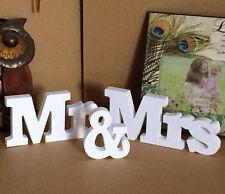 Jabux Mrmrs Wooden Letters Wedding Decoration Gift Present
